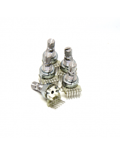 Dual-gang 12mm Potentiometer - B100k x5 units