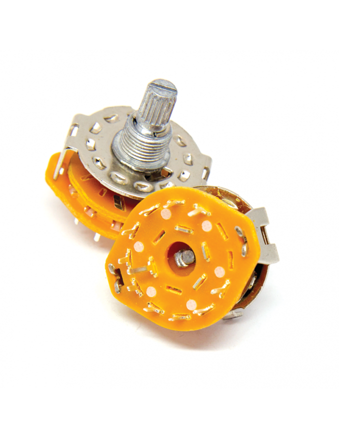 Rotary Switch - 10 position x2 units