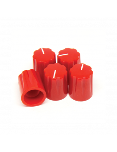 Knob - Davies 1900h Clone, red x5 Units