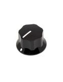 Knob | Fluted/MXR-style, Black, Large (25mm) | x3 units