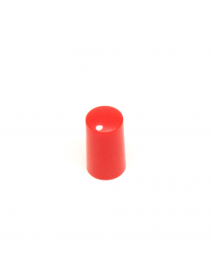 Knob - Miniature, Red, 7.5mm x5 units