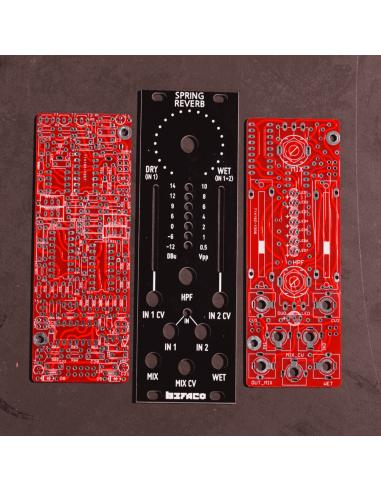Spring Reverb PCB & Panel Set