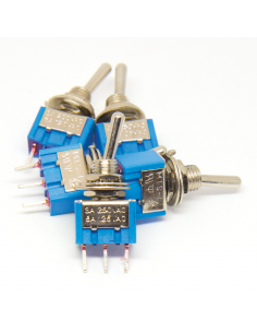 Toggle Switch - SPST ON-ON x5 units