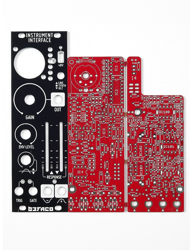 Instrument Interface PCB & Panel Set