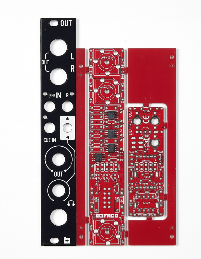 Output V3 PCB/Panel Set