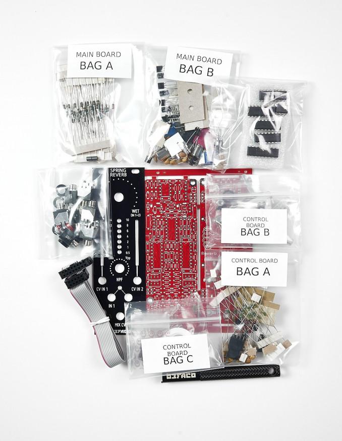 Spring Reverb DIY Kit