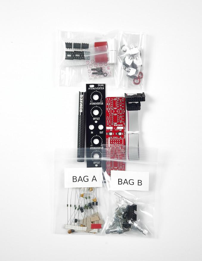 Dual Attenuverter DIY Kit