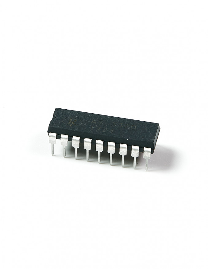 AS3320 Voltage Controlled Filter x2