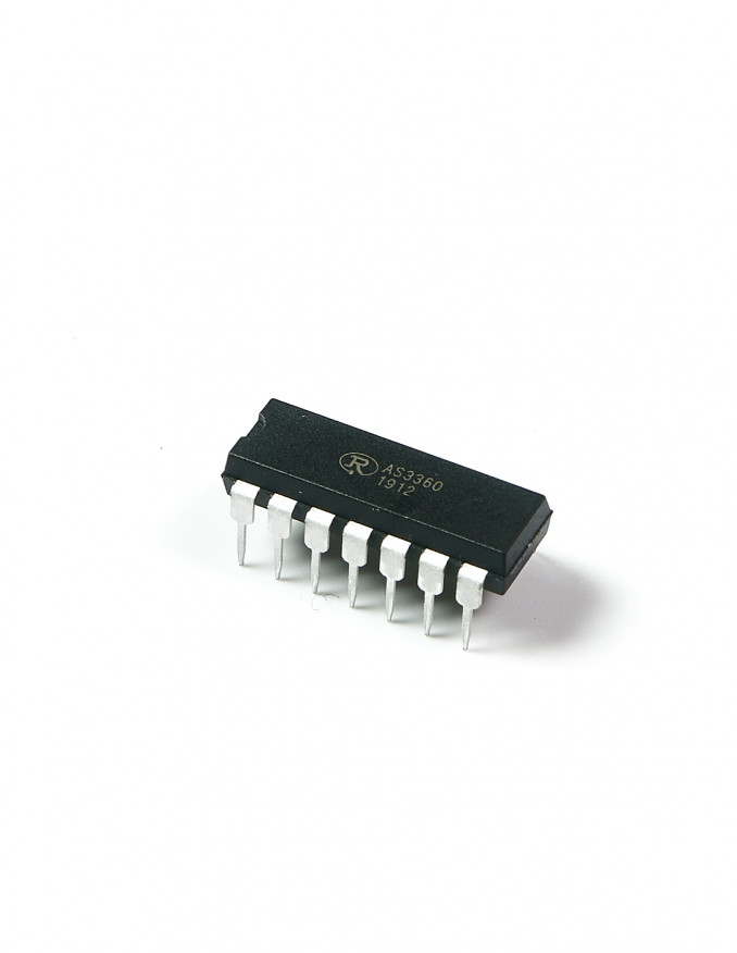 AS3360 Voltage Controlled Amplifier x2