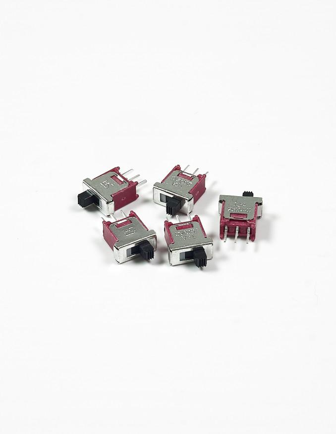 Sliding Switch - SPDT ON-ON x5 units
