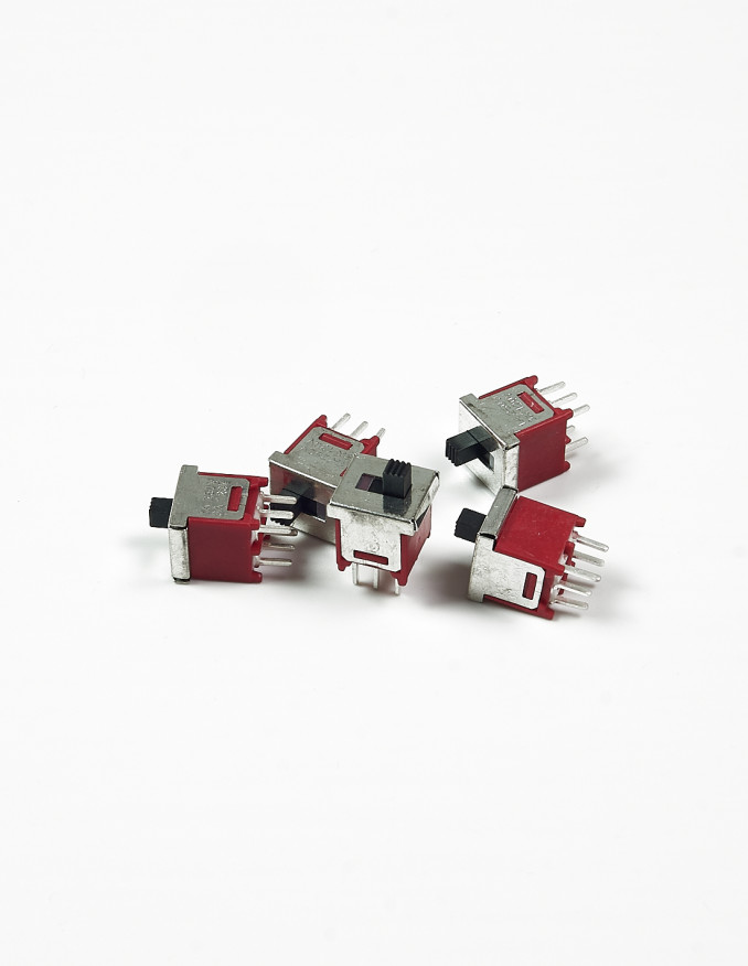 Sliding Switch - DPDT ON-ON x5 units