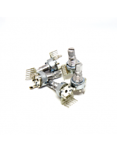 Dual-gang 12mm Potentiometer - B10k x5 units