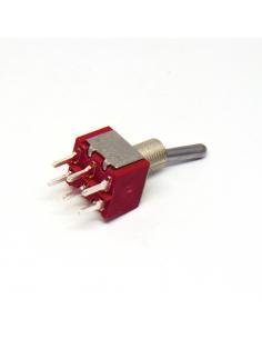 Toggle Mini Switch - DPDT...
