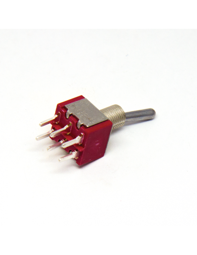 Toggle Mini Switch - DPDT ON-ON x5 units