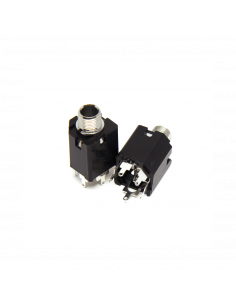 Female Vertical Mono Jack 6.35mm x2 units