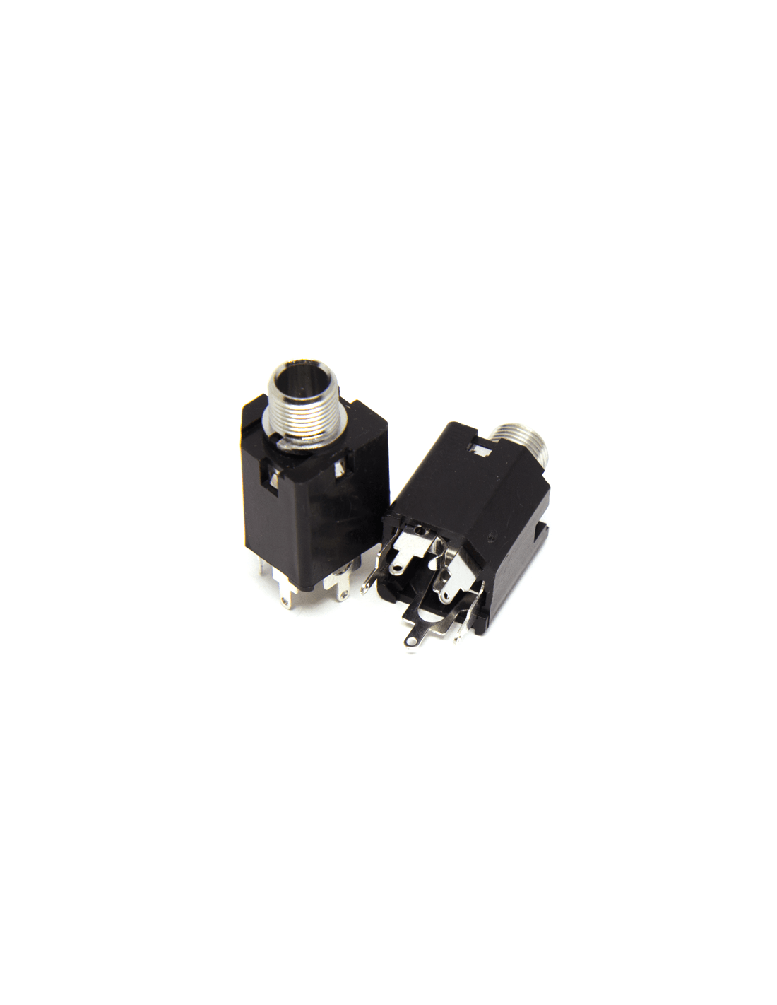 Female Vertical Mono Jack 6.35mm x2 unitsBefaco
