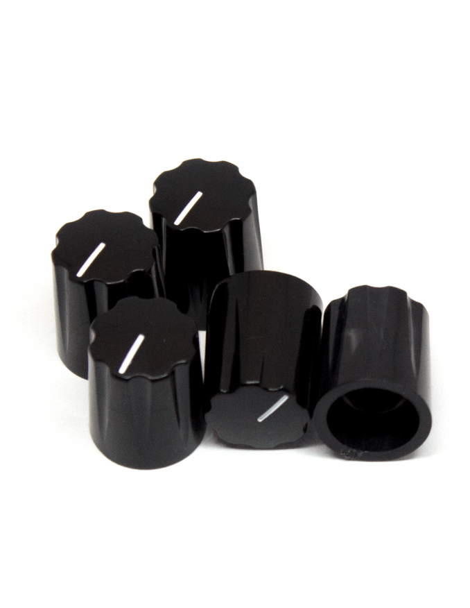 Knob   Davies 1900h Clone, black   x5 Units