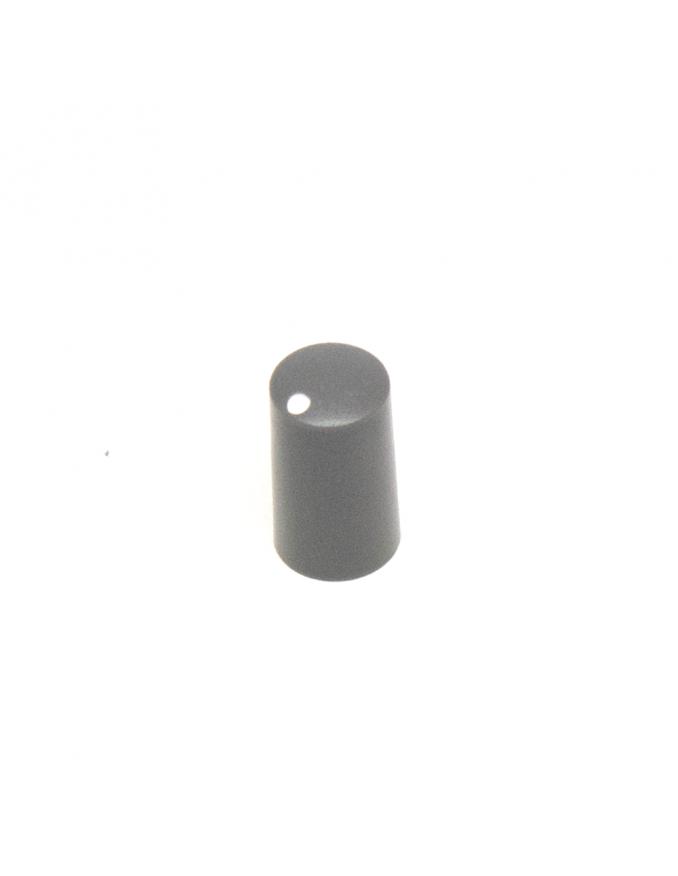 Knob   Miniature, Dark Gray, 7.5mm   x5 units