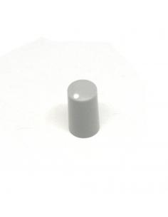 Knob - Miniature, Light Gray, 7.5mm x5 units