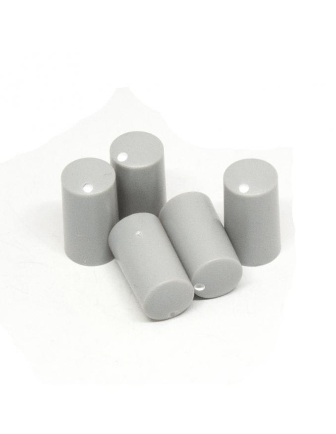 Knob   Miniature, Light Gray, 7.5mm   x5 units