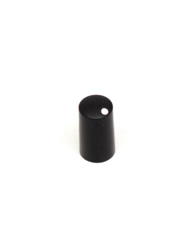 Knob   Miniature, Black, 7.5mm   x5 units