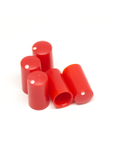Knob | Miniature, Red, 7.5mm | x5 units