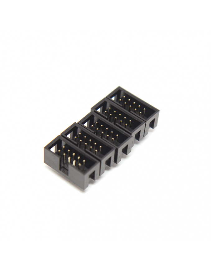 IDC Power Connector | Male, 10 pin (2x5), Vertical | x5 units