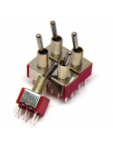 Toggle Switch - DPDT ON-ON x5 units